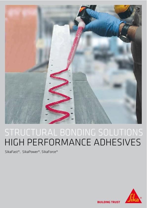 STRUCTURAL BONDING SOLUTIONS -  HIGH PERFORMANCE ADHESIVES