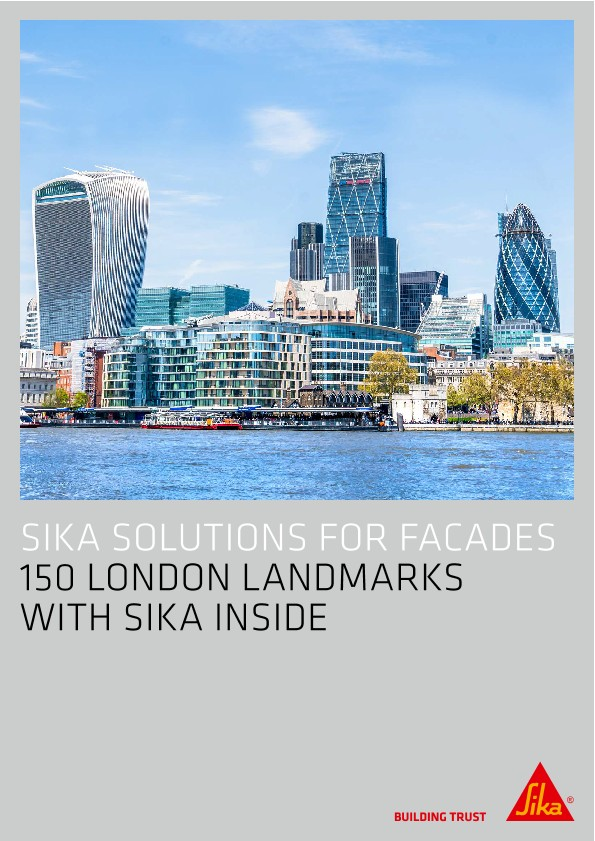 Sika Solutions for Facade - 150 London Landmarks with Sika Inside